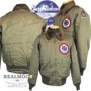 "No.BR14190 BUZZRICKSON'S TYPE B-10 ROUGH WEAR CLOTHING CO. ""63rd BOMB SQ.SEA HAWKS"""