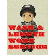 WASH & LENGTH WORK