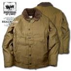 FREEWHEELERS フリーホイーラーズ  No.2131015 N-1 デッキジャケット 新色プレーンタイプ グログランクロス