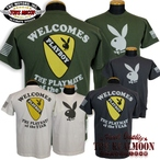 No.TMC1729 TOYS McCOY MILITARY TEE PLAYBOY WELCOMES THE PLAYMATE OF THE YEAR