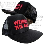"No.WRD19SSG04 WEIRDO MESH CAP ""Weirdo's the Beef?"""