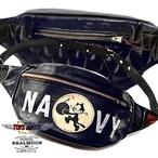 "No.TMA1912RM 【REAL MOON別注カラー/ネイビー】TOYS McCOY  DUAL BLADE BAG FELIX THE CAT""NAVY."""