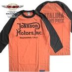 "No.TMC1930 TOYS McCOY JOHNSON MOTORS INC CROPPED RAGLAN TEE"" 【CATALINA GRAND】"
