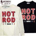 "No.WRD20SS34 WEIRDO L/S TEE ""HOTROD TAIL"""